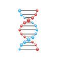 dna science molecule genetic background structure vector image