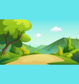 a tree and graphic jungle vector image vector image