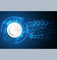 abstract background technology design vector image