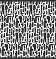 abstract black and white pattern with shapes vector image vector image