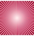 abstract color background with radial lines vector image vector image