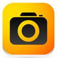 camera photo camera icon vector image vector image