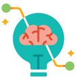 creative thinking flat vector image vector image