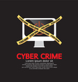 Cyber Crime vector image vector image