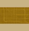 golden orange phoenix city area background map vector image