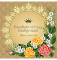 luxurious background vector image vector image