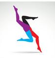 Women legs vector image vector image