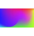 abstract gradient colorful background vector image vector image