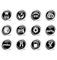 Auto Service Icons set vector image vector image