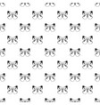 big butterfly pattern seamless vector image