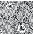 lace seamless pattern vintage lace decorative vector image vector image