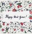 modern new year card or party design vector image