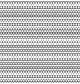 Seamless hexagonal background vector image vector image