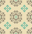 Seamless pattern with element vintage style vector image vector image